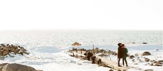 The great winter escape in North Estonia