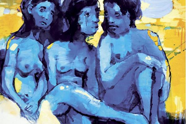 """International Nude Art Exhibition """"MAN AND WOMAN"""""""